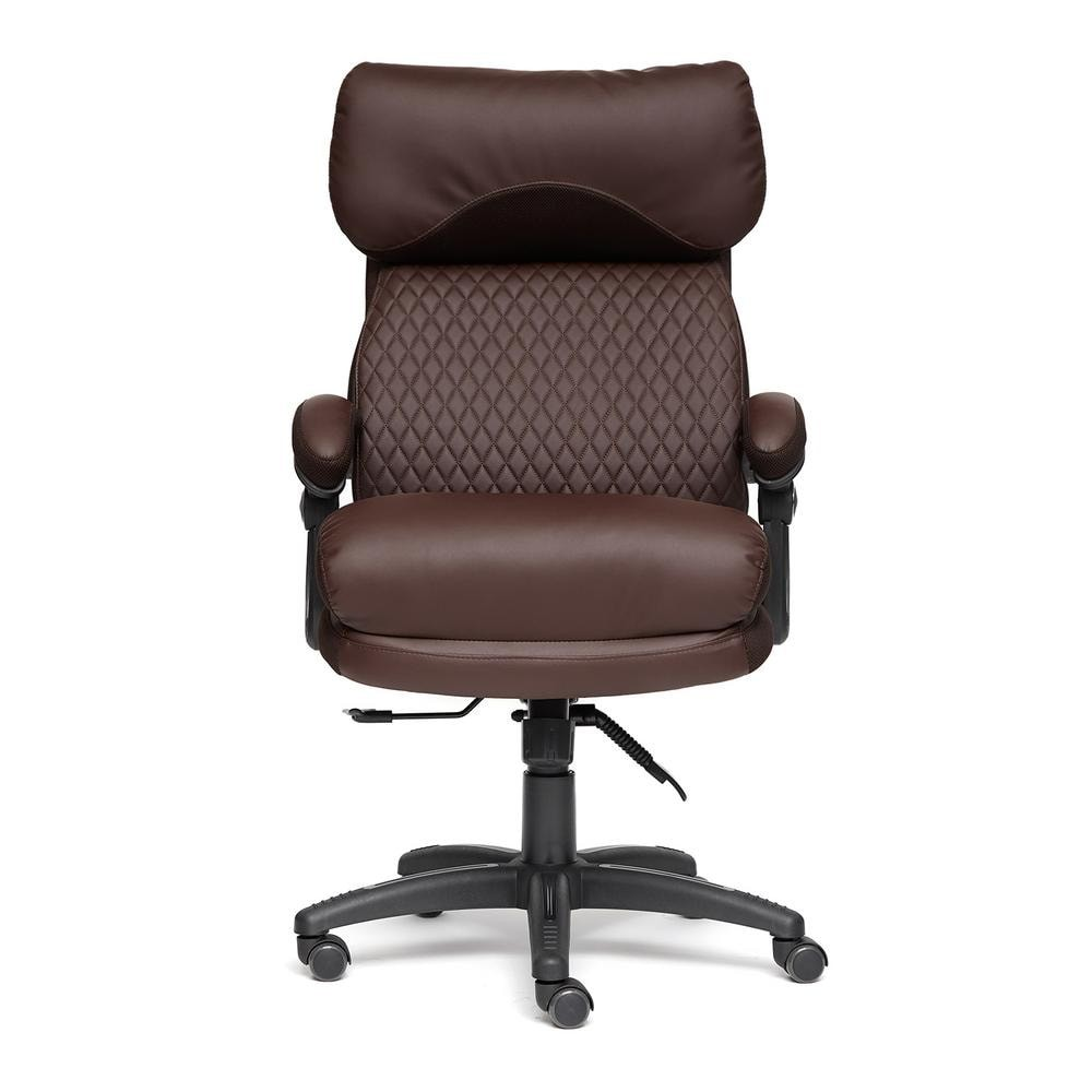Кресло компьютерное Тетчер «Chief» (Искусств. коричневая кожа)